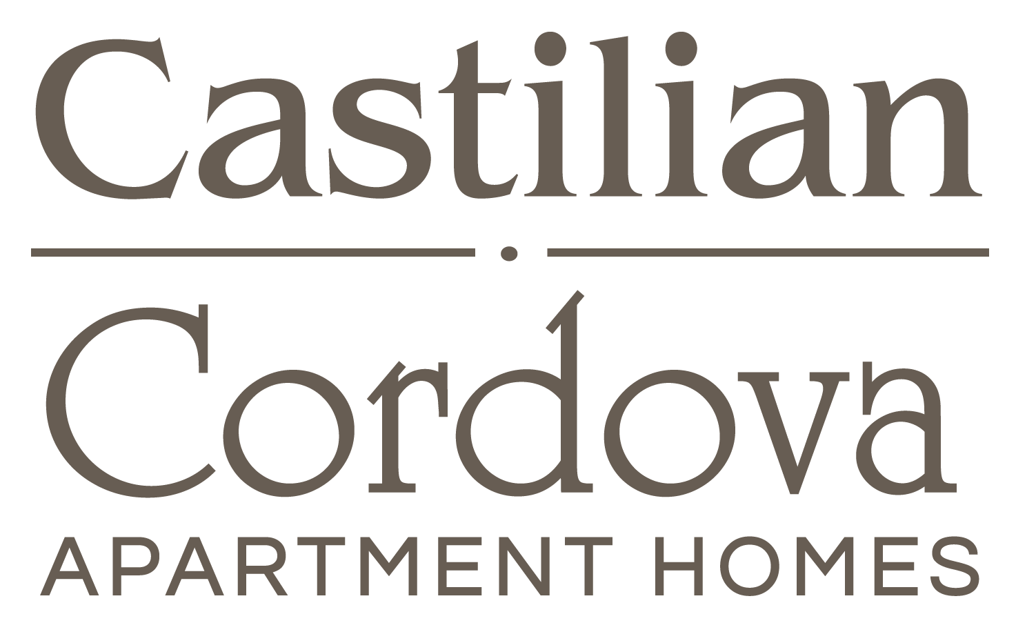 Castilian and Cordova Apartment Homes logo